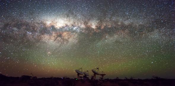 The Australian Square Kilometre Array Pathfinder. Credit: Alex Cherney