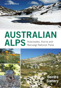 Front cover of Australian Alps book
