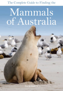 Front cover of Mammals of Australia book