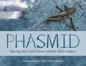 Front cover of Phasmid book