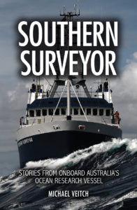 An image of the book cover of the Southern Surveyor ship
