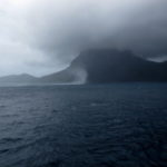 The weather closes in on the voyage led by Professor Colin Woodroffe 8 (image MNF + Bruce Barker)