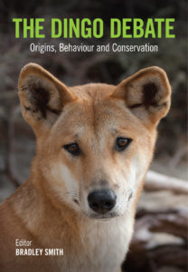 Image of the front cover of the Great Dingo Debate book