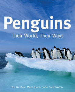Front cover of a book about penguins
