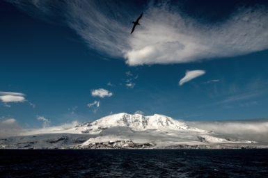 Heard Island in the Southern Ocean (image Matt Curnock)
