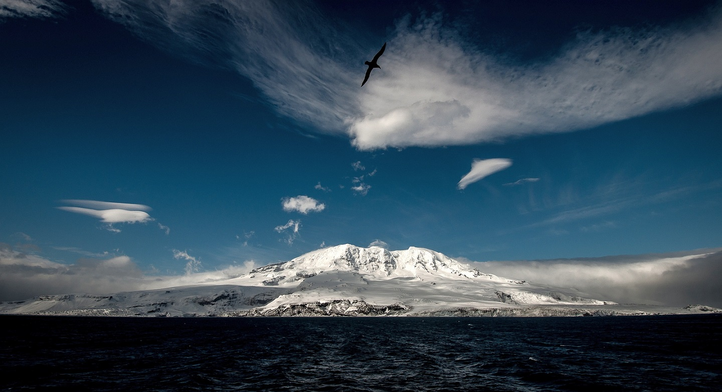 Heard Island in the Southern Ocean (image Matt Curnock)