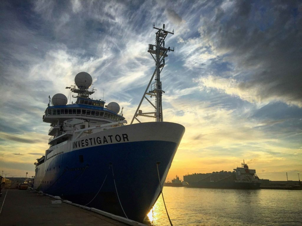 RV Investigator, marine vessel, ship