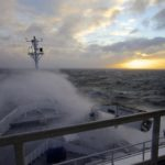 RV Investigator in rough weather in the Southern Ocean 2 (image MNF+Pete Harmsen)LR