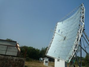 This solar powered crematorium in India is one way to offset the costs of cremation. Image Credit: Urvish Dave.