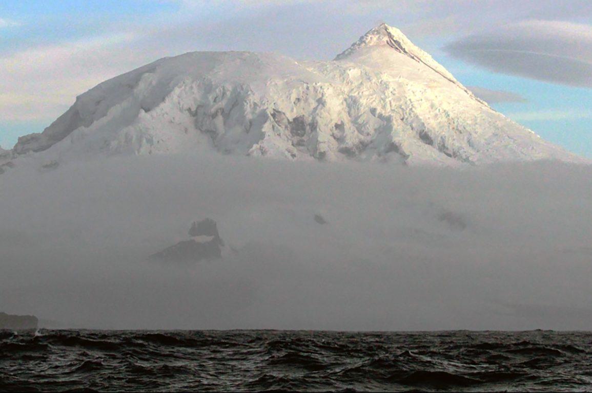 Heard Island Big Ben Erupting