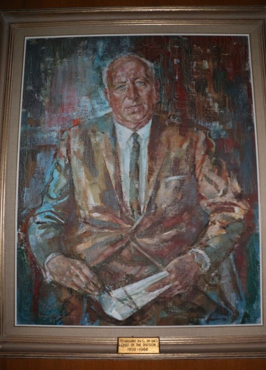 Dr. Thomas Screen Gregory, painted by Louis Kahan in 1966