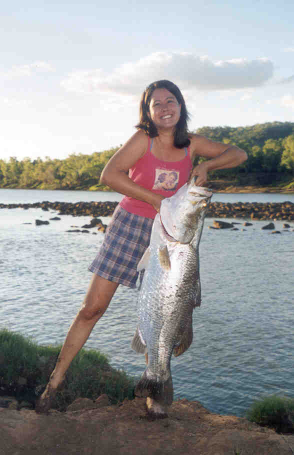 Magen Pettit with large fish