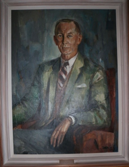 Dr. Dudley Arthur, painted by Judy Cassab, 1958.