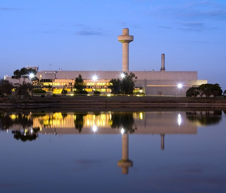 Exterior view of CSIRO's Australian Animal Health Laboratory, Geelong, Victoria