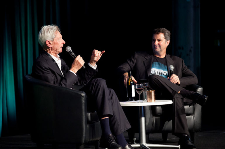 Bill Ferris and Larry Marshall in conversation