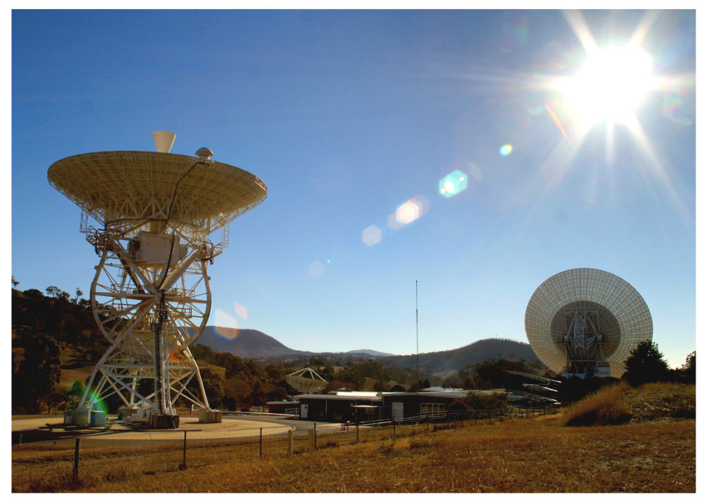 The Apollo Antennas – between them DSS46 and DSS43 tracked every human mission to the Moon between 1968 and 1972.
