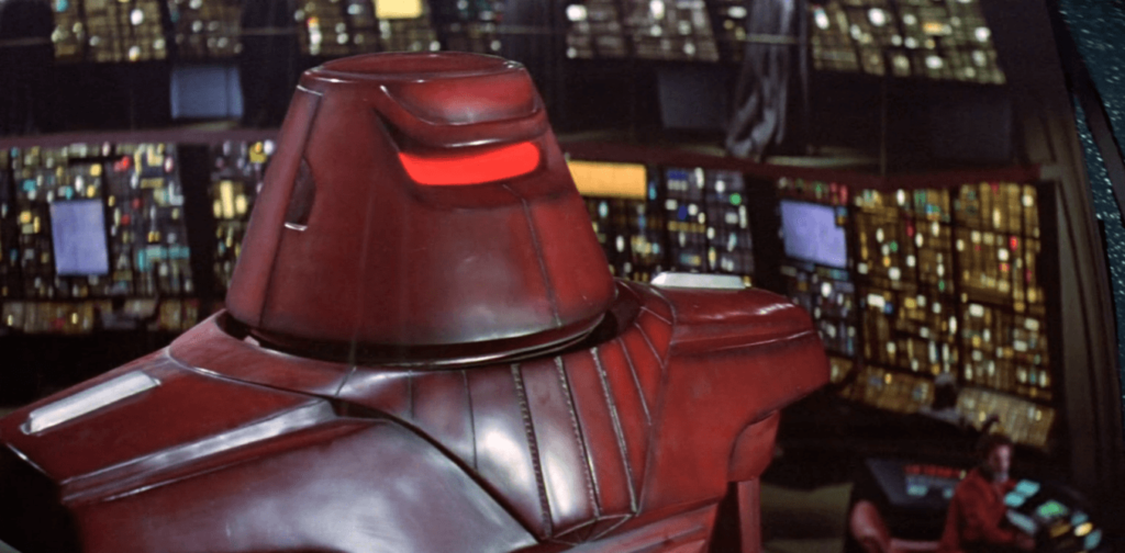 Could killer robots like Maximilian from the 1979 film Black Hole become reality? Walt Disney Productions