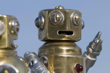 Intelligent machines are getting better at understanding our conversation. Shutterstock/Gary Blakeley