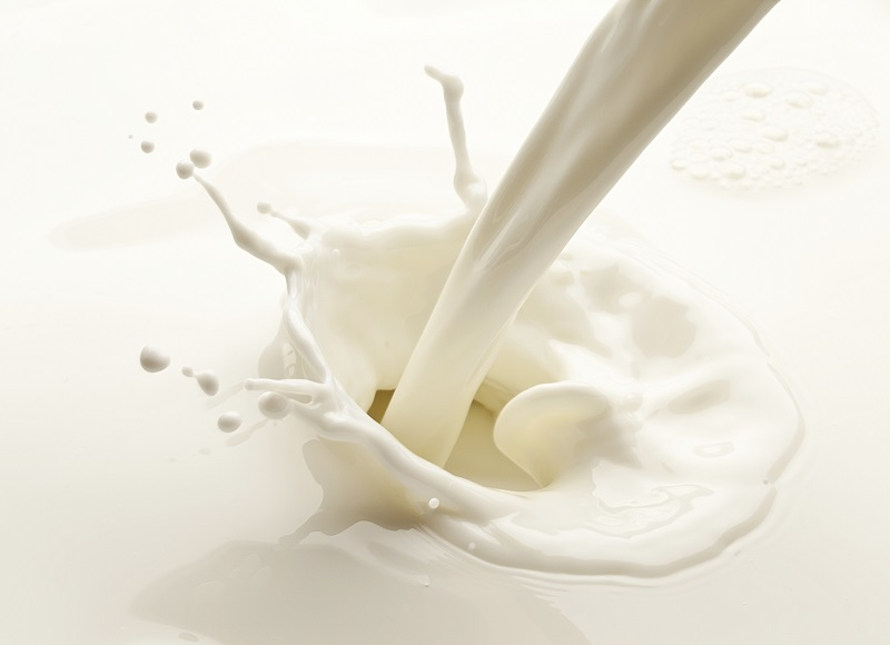 Milk is an important source of calcium in our diets.