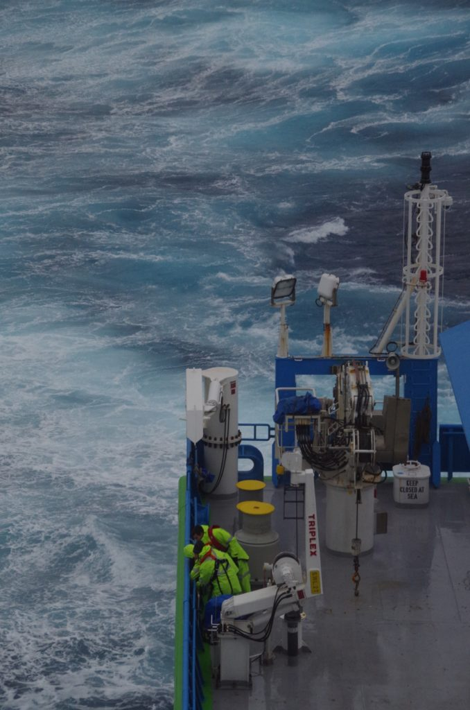 The wild weather of the Southern Ocean. Image: Bernadette Sloyan.