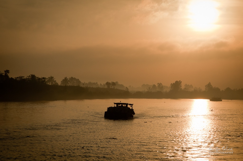 Sunrise in the Mekong Delta. Image credit - Staffan Scherz/Flickr