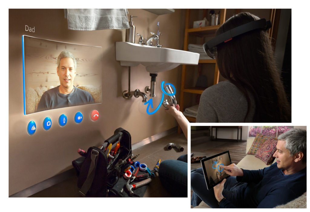 remote coworking - augmented reality