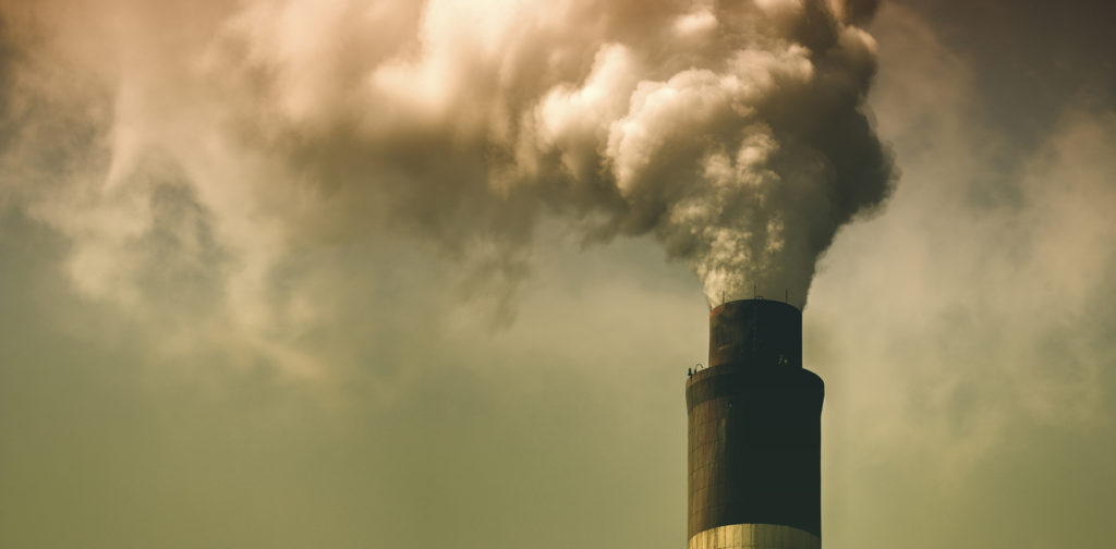 China's concerns about air pollution from burning coal is one reason behind the emissions slowdown. China coal image from www.shutterstock.com