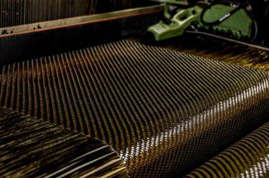 Carbon fibre weave