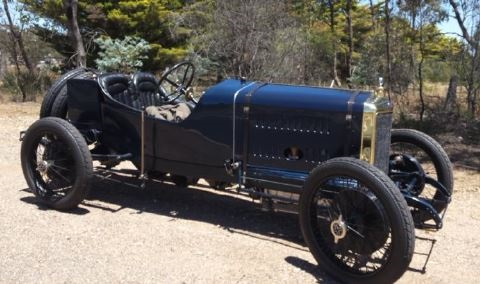 Restored 1914 Delage race car