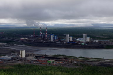 The Russian town of Norilsk contains the world's most valuable source of mined nickel. Norilsk mine and town, 2014., Author provided.