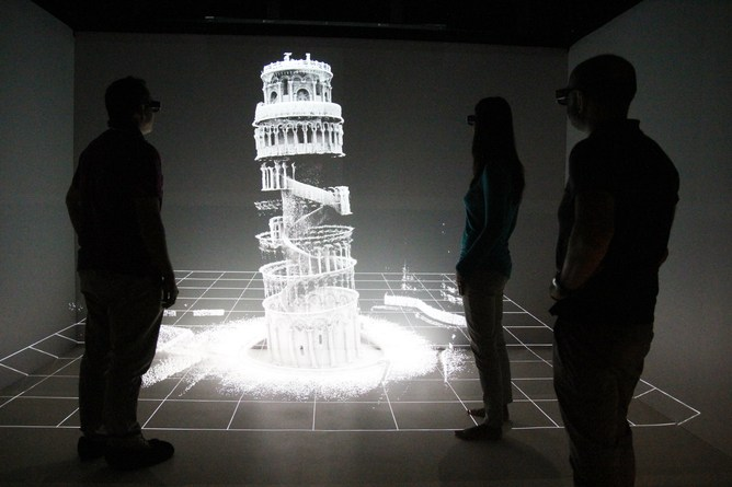 3D map of Leaning Tower of Pisa