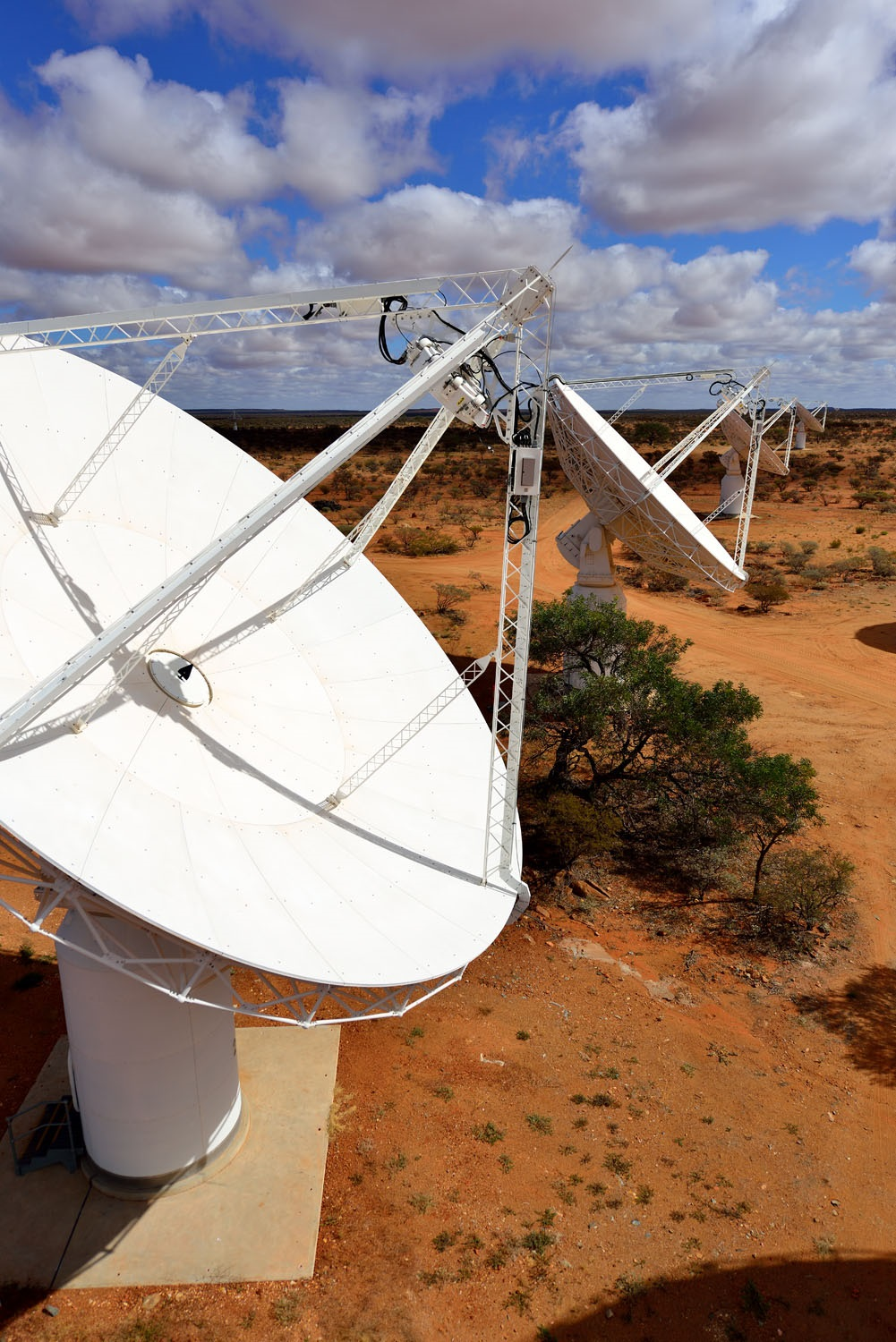 ASKAP will capture radio images of the sky in more detail and faster than ever before.