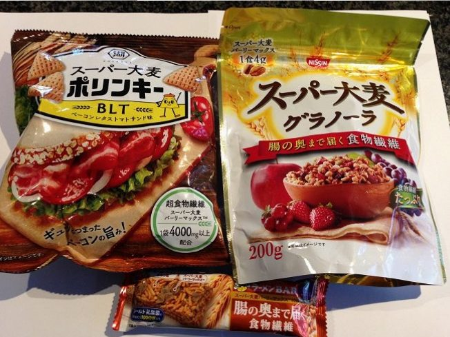 There are more than 20 products now available in Japan that contain BARLEYmaxTM, including snacks, granola and ramen bars.