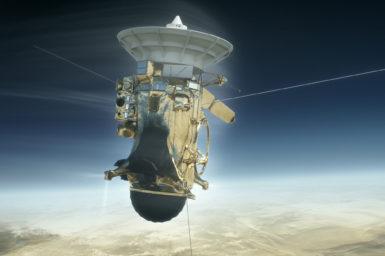 Cassini saturn atmosphere