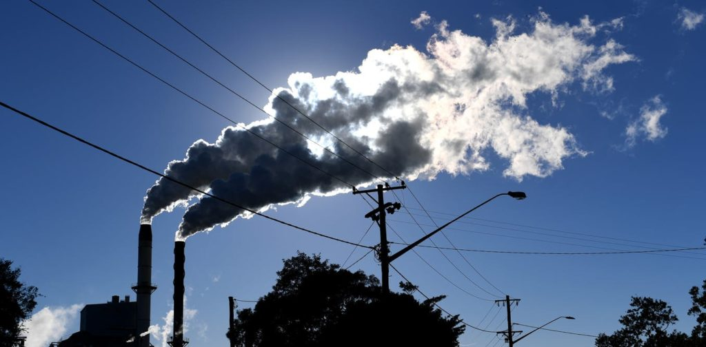 The growth in global carbon emissions has resumed after a three-year pause. AAP Image/Dave Hunt