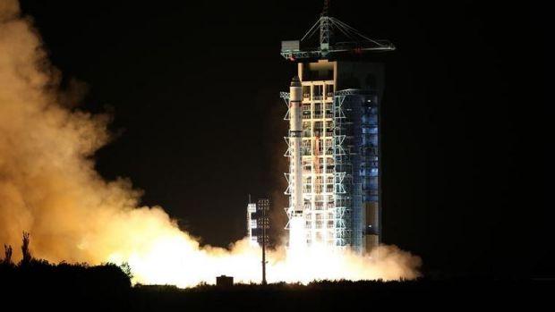 Micius launch Photo Xinhua