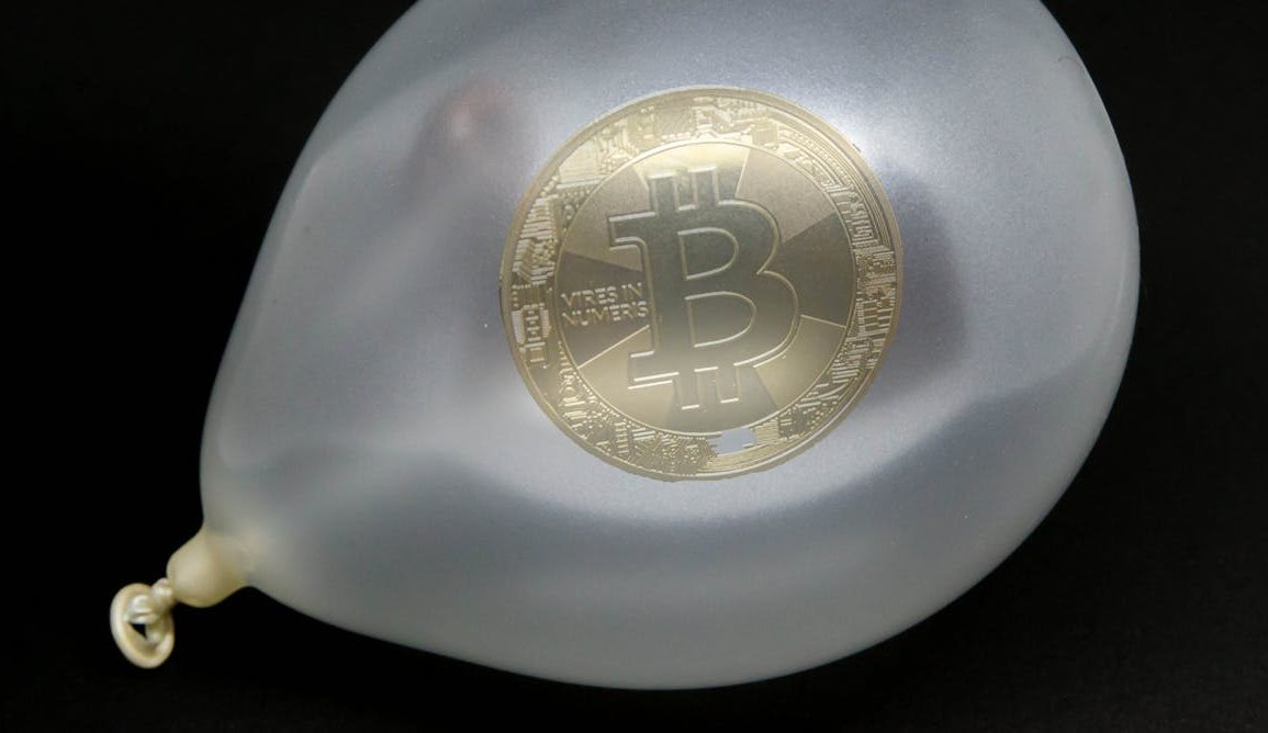 Is Bitcoin a bubble? Marco Verch/flickr, CC BY-SA