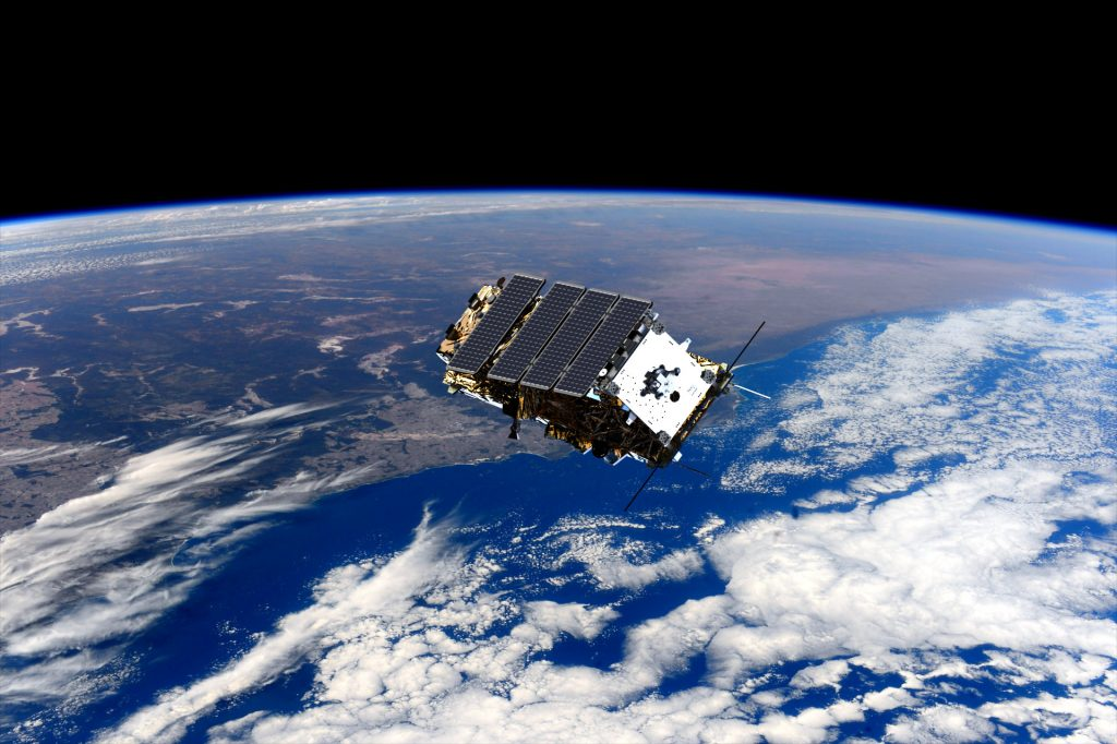 NovaSAR Satellite over Australia
