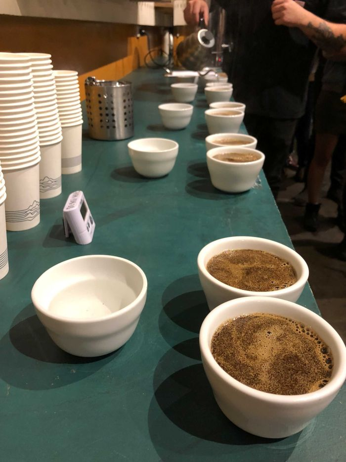 Professionals called Q graders determine if coffee qualifies as specialty. (ABC News: Belinda Smith)