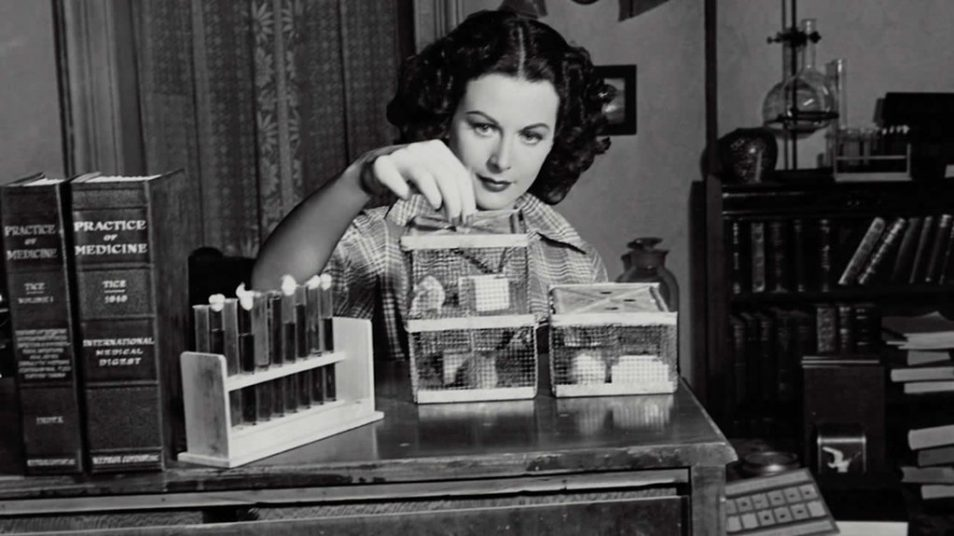 Hedy Lamarr experiments