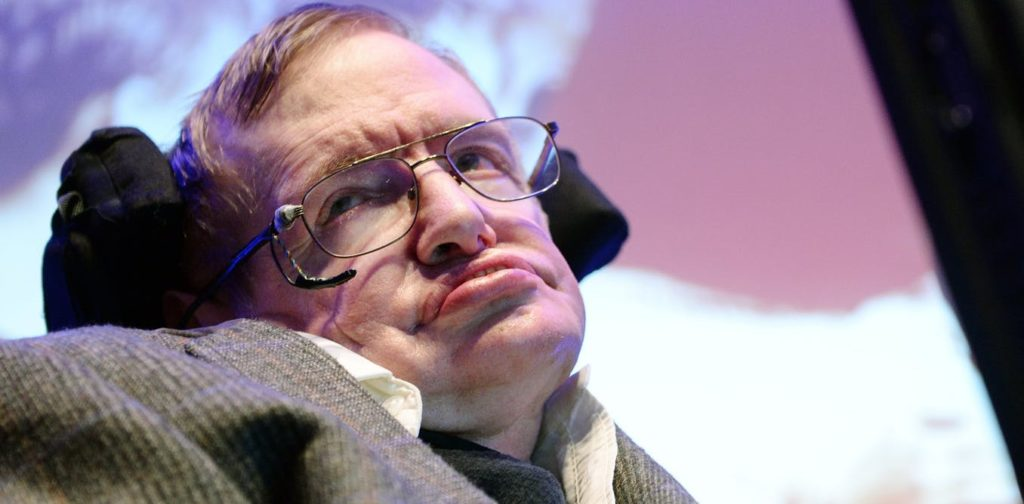 British theoretical physicist and cosmologist, Professor Stephen Hawking in 2014. EPA/Andy Rain