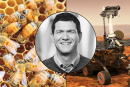 Paulo de Souza, Opportunity Mars rover, bees with backpacks