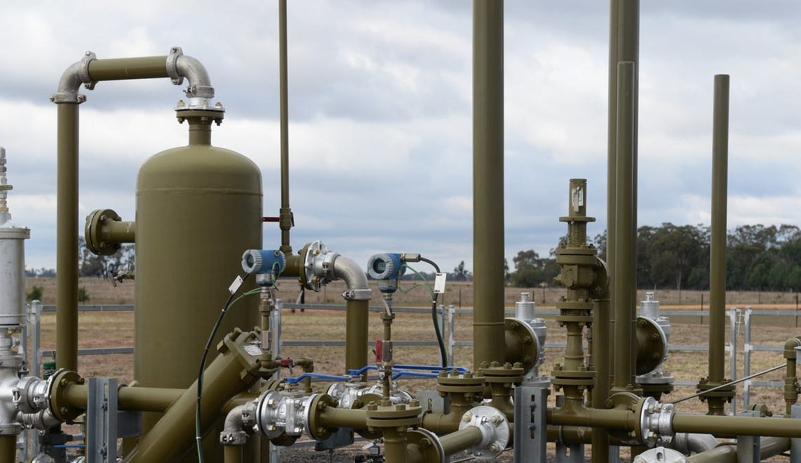 A coal seam gas site