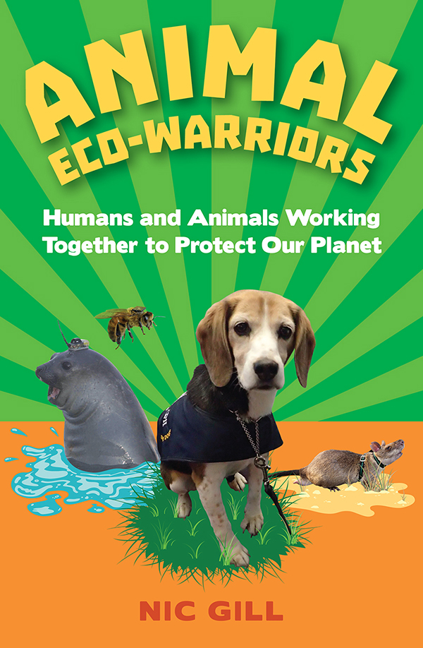 Animal eco-warriors book cover