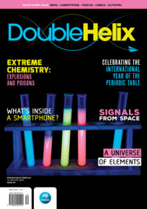 cover of double helix magazine