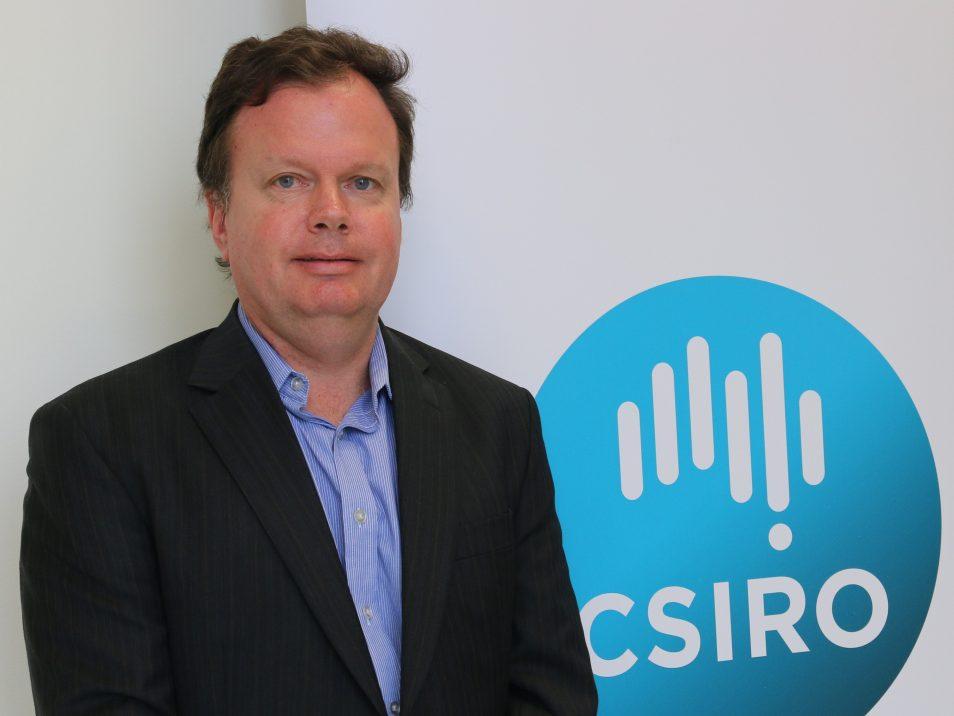 CSIRO TraNSIT leader Dr Andrew Higgins