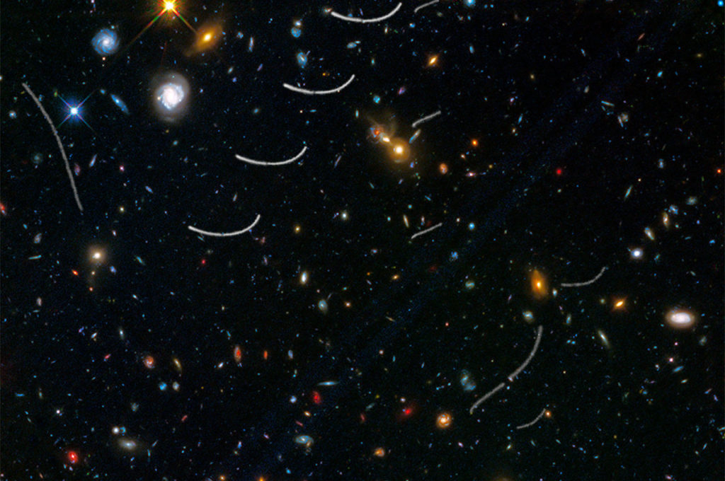 A picture from the NASA Hubble Telescope