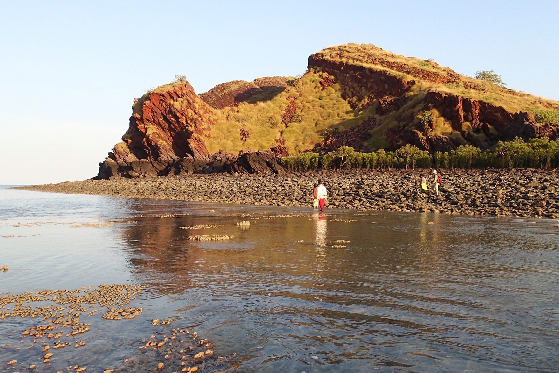 A photo of Irvine Island in the Kimberley