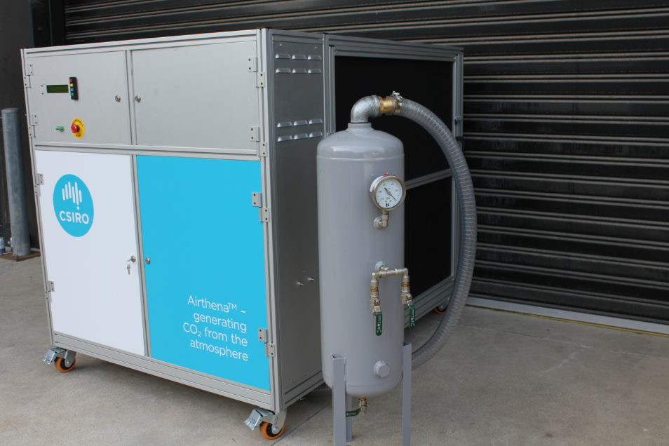 Airthena CO2 Capture Machine