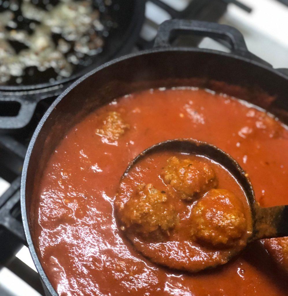 Meatballs by Pia Gava